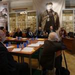 """Директор АНО """"ИИТО"""" А.Д. Ханнанов выступает на Круглом столе Центра Б.М. Неменского"""