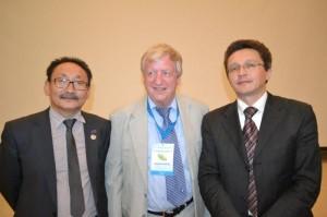 В.В. Максимов (Россия), д-р Раймонд Морель (Швейцария) и А.Д. Ханнанов (АНО «ИИТО», Россия)