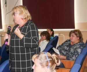 Участники общей дискуссии